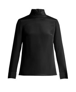 Goat | Eve Silk-Crepe Blouse