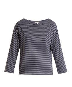 Skin | Striped Jersey Pyjama Top