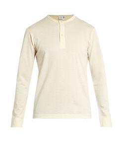 Sunspel | Henley Vintage Wool Sweater