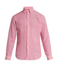 Polo Ralph Lauren | Logo-Embroidered Striped Linen Shirt