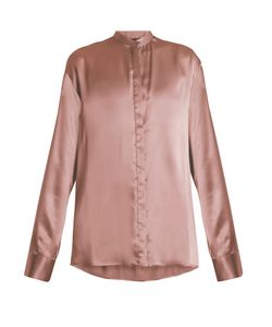 Haider Ackermann | Dali Oversized Silk-Satin Blouse