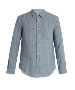 120% Lino | Striped Linen Shirt