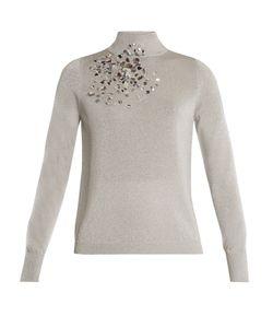 Delpozo | Embellished High-Neck Sweater