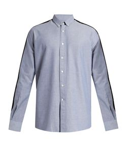 Ami | Contrast-Panel Cotton Shirt