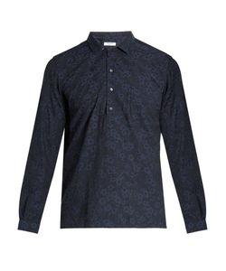 Boglioli   -Jacquard Cotton Shirt
