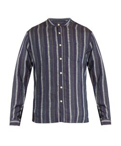 Oliver Spencer | Grandad-Collar Linen Shirt