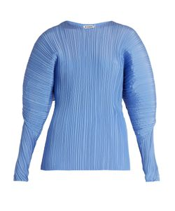 Jil Sander | Calia Pleated Silk Top