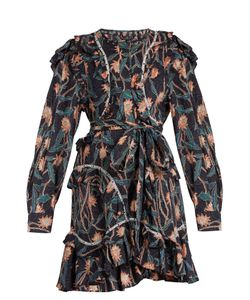 Isabel Marant | Ullo Print Ruffled Cotton Dress