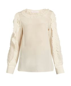 See By Chloe | Ruffle-Trimmed Silk Blouse