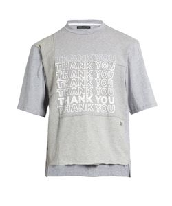 LONGJOURNEY | Nash Thank You-Print Cotton-Jersey T-Shirt