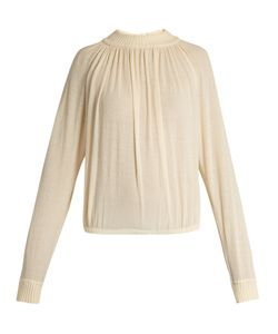 LEMAIRE | Cotton-Blend Crepe Sweater