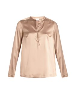 Brunello Cucinelli | Stretch-Silk Beaded Blouse