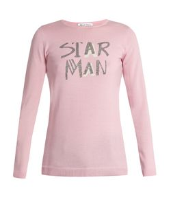 Bella Freud | Star Man Wool-Blend Sweater
