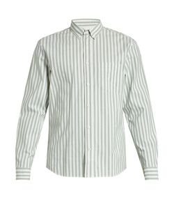 Acne | Isherwood Single-Cuff Striped Cotton Shirt