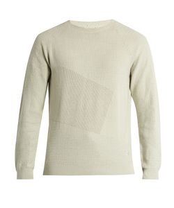 ADIDAS BY WINGS & HORNS | Patch Cotton-Blend Knit Sweater