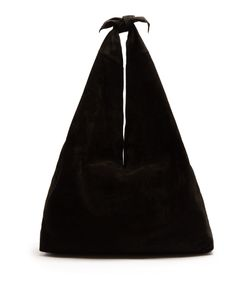 The Row | Bindle Suede Shoulder Bag