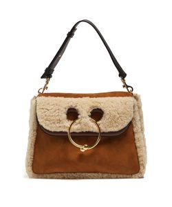 J.W. Anderson | Pierce Medium Shearling Shoulder Bag