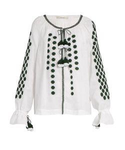 Vita Kin | All Stars Embroidered Linen Blouse