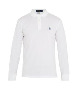 Polo Ralph Lauren | Long-Sleeved Stretch-Cotton Polo Shirt