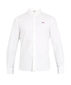 Maison Kitsune | Single-Cuff Oxford-Cotton Shirt