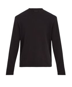 Helmut Lang | Crew-Neck Cotton-Blend Sweatshirt