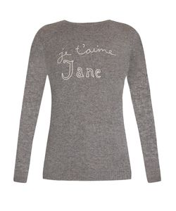 Bella Freud   Je Taime Jane Cashmere Sweater