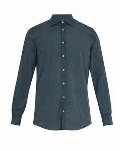 Massimo Alba | Point-Collar Striped Cotton Shirt