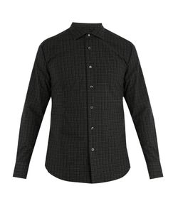 The GIGI | Skat Single-Cuff Plaid Cotton Shirt