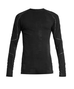 Y-3 | Wool-Blend Long-Sleeved Running T-Shirt