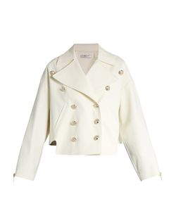 Lanvin | Double-Breasted Cotton-Blend Gabardine Jacket