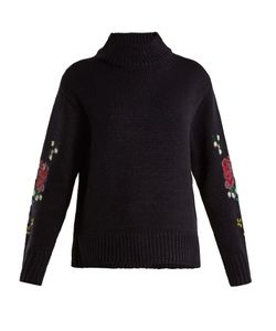 Muveil | Cross-Stitch Embroidered Sweater