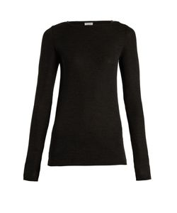 Brunello Cucinelli | Boat-Neck Wool Sweater