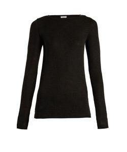 Brunello Cucinelli   Boat-Neck Wool Sweater