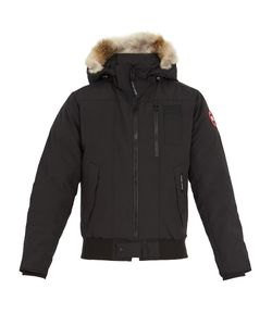 Canada Goose | Borden Fur-Trimmed Bomber Jacket