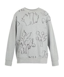 Wooyoungmi | -Appliqué Cotton-Jersey Sweatshirt