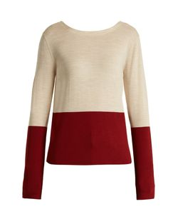 Marni | V-Back Bi-Colour Wool Sweater