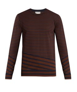 Wooyoungmi | Striped Cotton-Blend Sweater