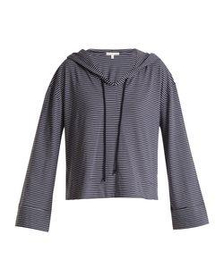 Skin | Striped Jersey Hooded Pyjama Top
