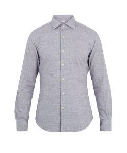 Glanshirt | Spread-Collar Cotton Shirt