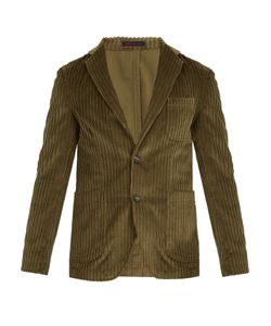 The GIGI | Angie Patch-Pocket Cotton-Corduroy Blazer