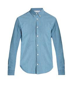 ÉTUDES | Info Logo-Embroidered Cotton Shirt