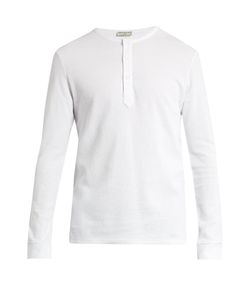 Éditions M.R   Waffle-Knit Cotton-Jersey T-Shirt