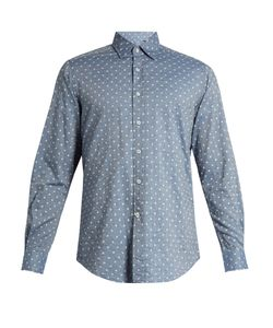 Glanshirt | Ween Polka-Dot Embroidered Cotton Shirt
