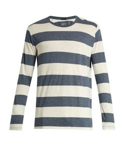 ATM | Crew-Neck Striped Cotton-Blend T-Shirt