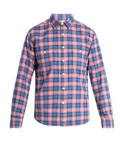 Faherty | Seasons Plaid Brushed-Cotton Shirt