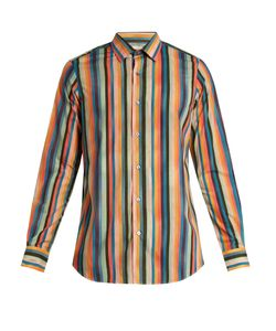Paul Smith | Artist Stripe-Print Cotton Shirt