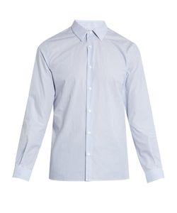 Éditions M.R | Striped-Cotton Single-Cuff Shirt