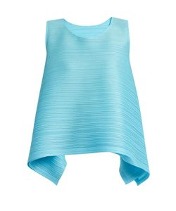 PLEATS PLEASE BY ISSEY MIYAKE   Spinning Bounce Pleated Top