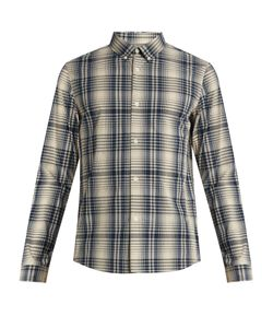 A.P.C. | Checked Cotton Shirt