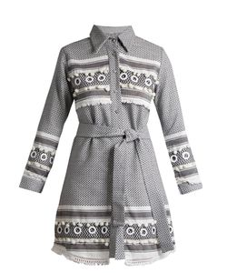 DODO BAR OR | Menashe Tassel-Embellished Cotton Shirtdress
